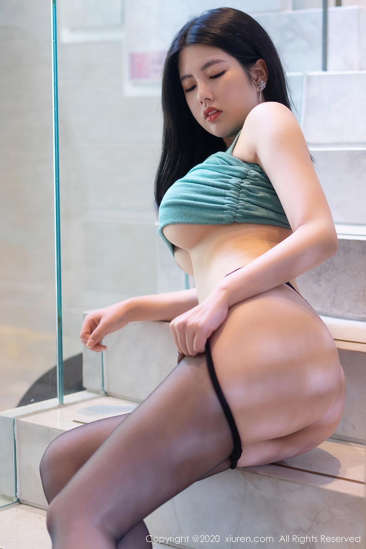 黑丝长腿绿轻纱