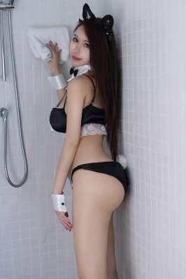 巨乳女郎尤妮丝猫儿女仆白净肉体侍奉